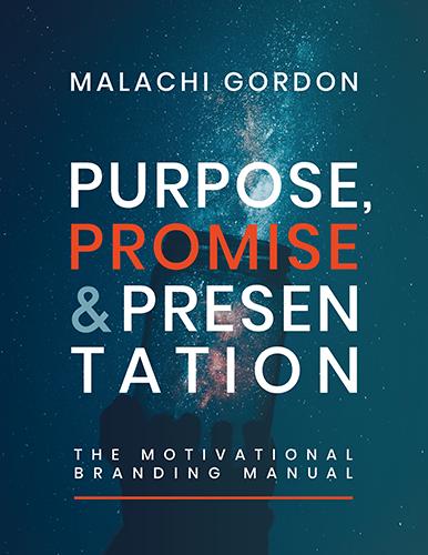 Cover design for Purpose, Promise & Presentation